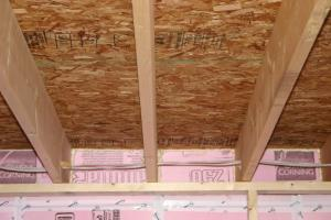 Effective Air Barrier For The Rim Joist Building America