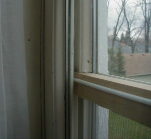 Window sash modification